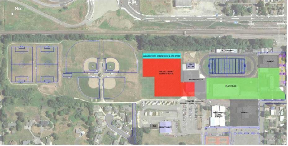 FHS Site plan w- N (1)