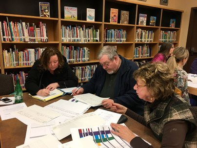 School Bond Task Force at Work